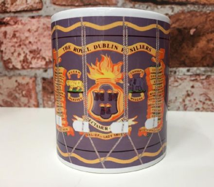 Royal Dublin Fusiliers Drum Mug